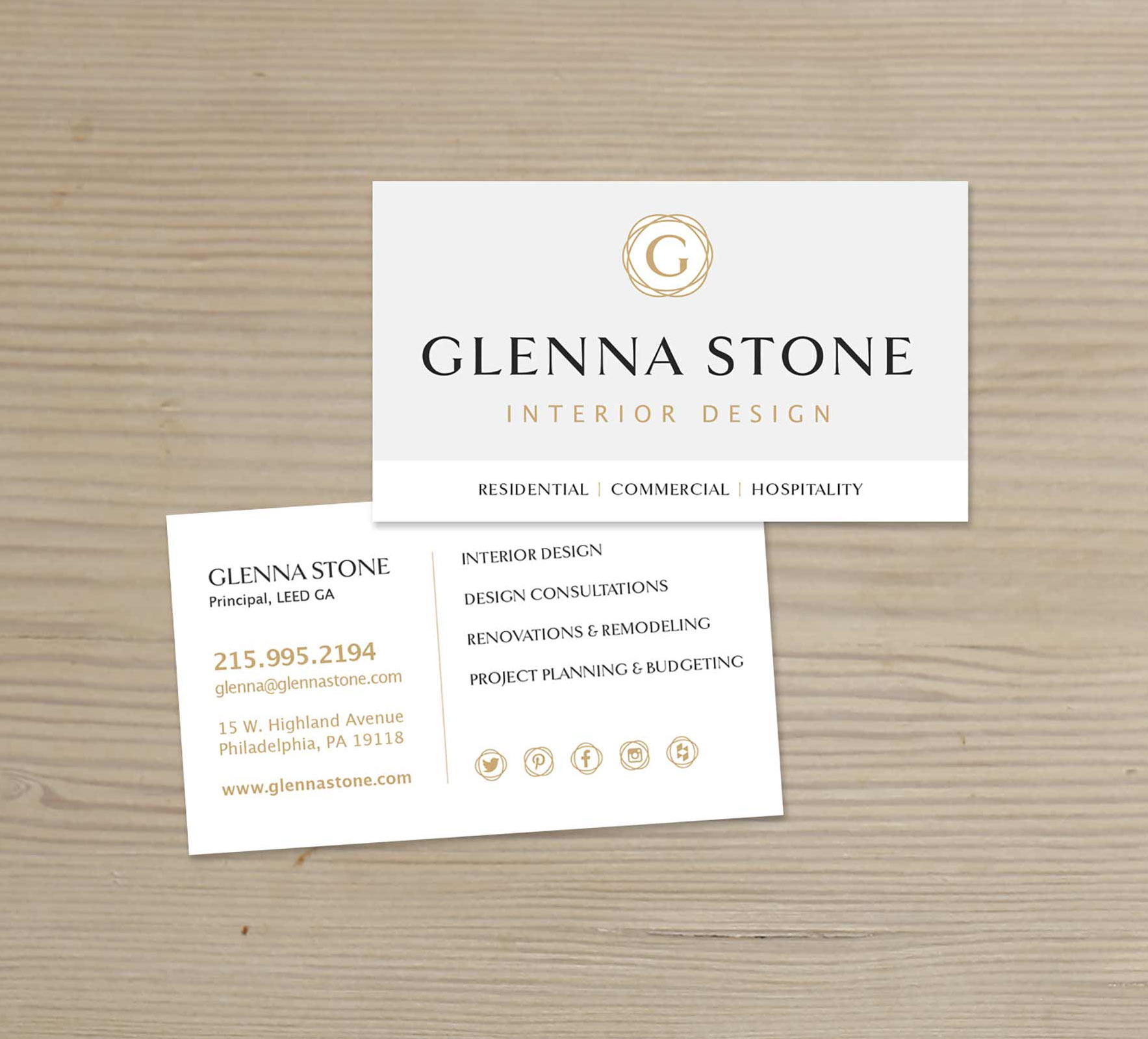 Glenna Stone Interior Design